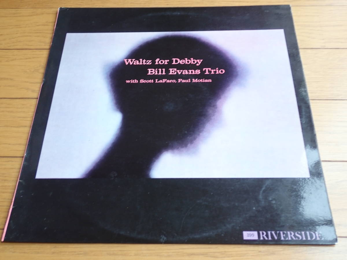 美盤:Riverside mono dg Waltz for Debby / BILL EVANS TRIO