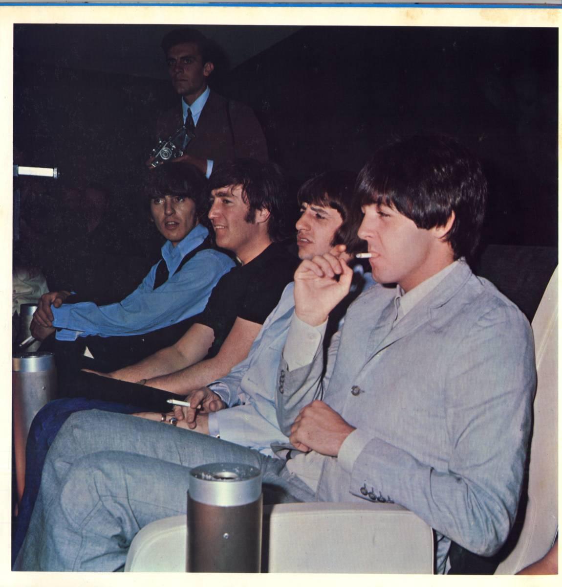 Beatles 「With The Beatles」国内盤アップルレーベル ダブルジャケット盤LPレコード  (AP-8678)_画像4
