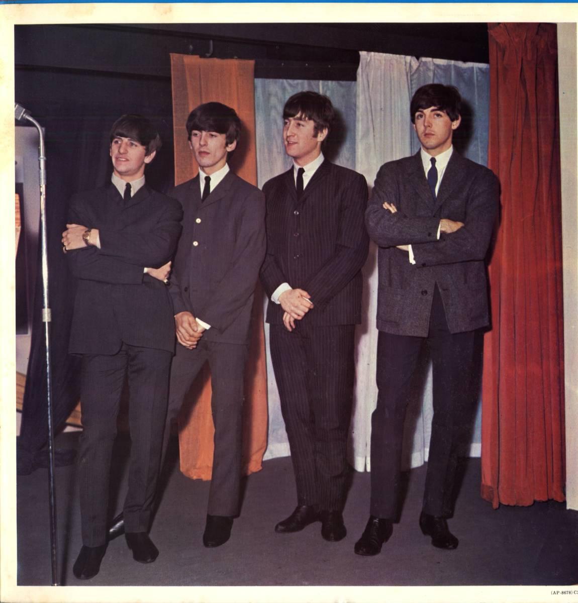Beatles 「With The Beatles」国内盤アップルレーベル ダブルジャケット盤LPレコード  (AP-8678)_画像5