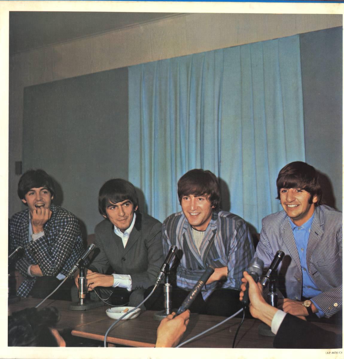 Beatles 「With The Beatles」国内盤アップルレーベル ダブルジャケット盤LPレコード  (AP-8678)_画像7