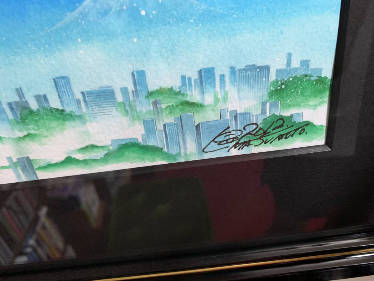 銀河鉄道999 松本零士 スカイツリー ピエゾグラフ 作品保証付_画像2