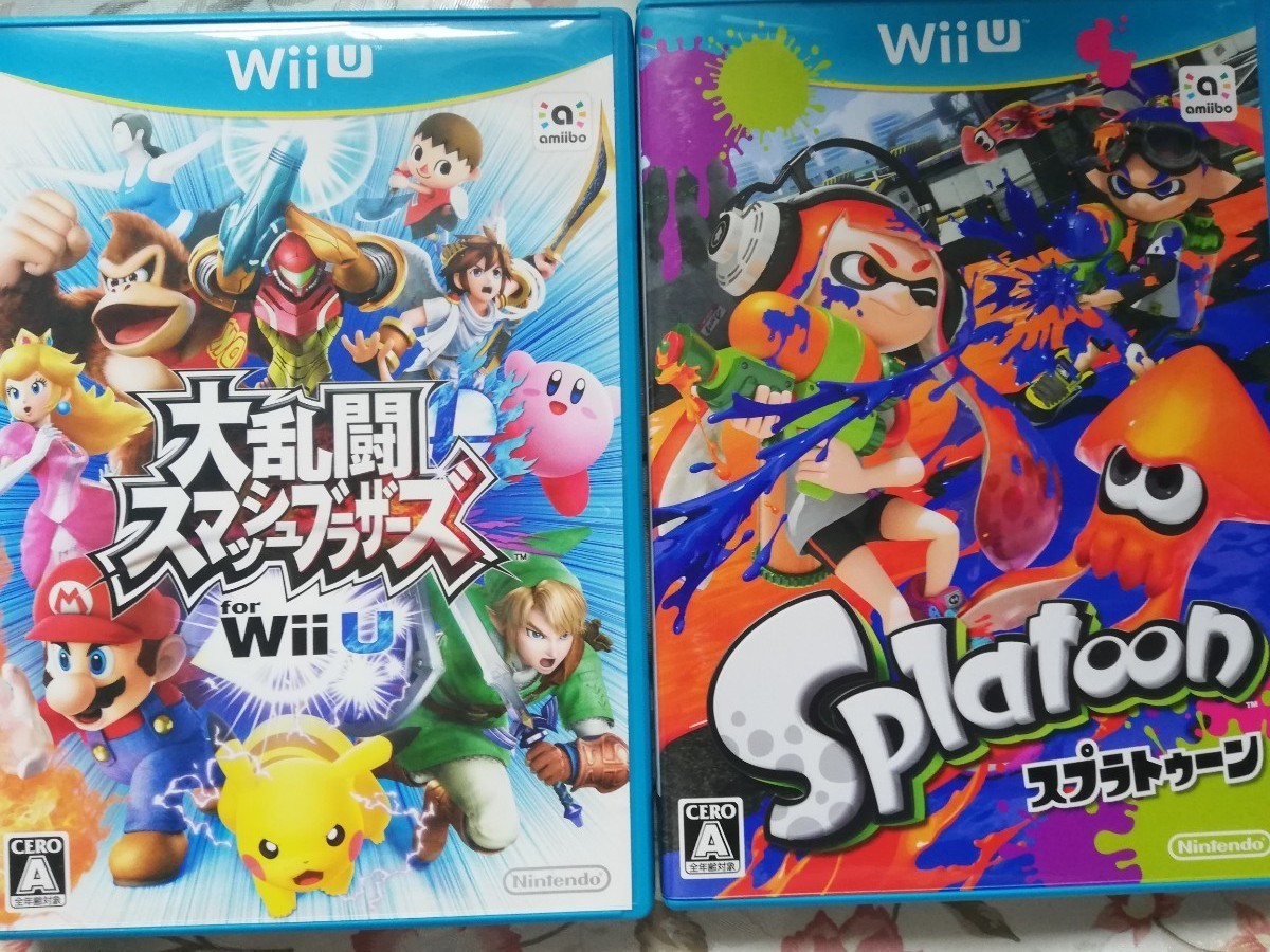 【Wii U】 Splatoon (スプラトゥーン)大波乱スマッシュブラザーズ