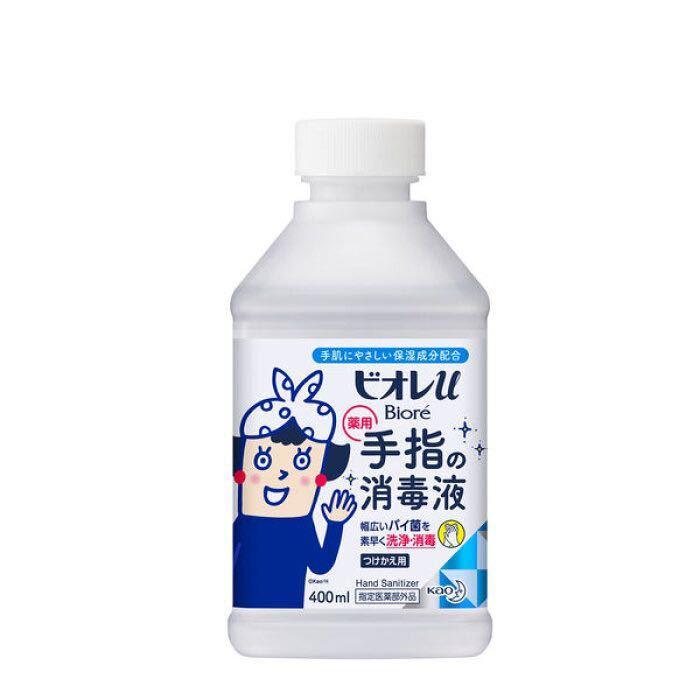 ビオレu 手指の消毒液 つけかえ用 400ml 一個 エタノール アルコール 消毒 除菌