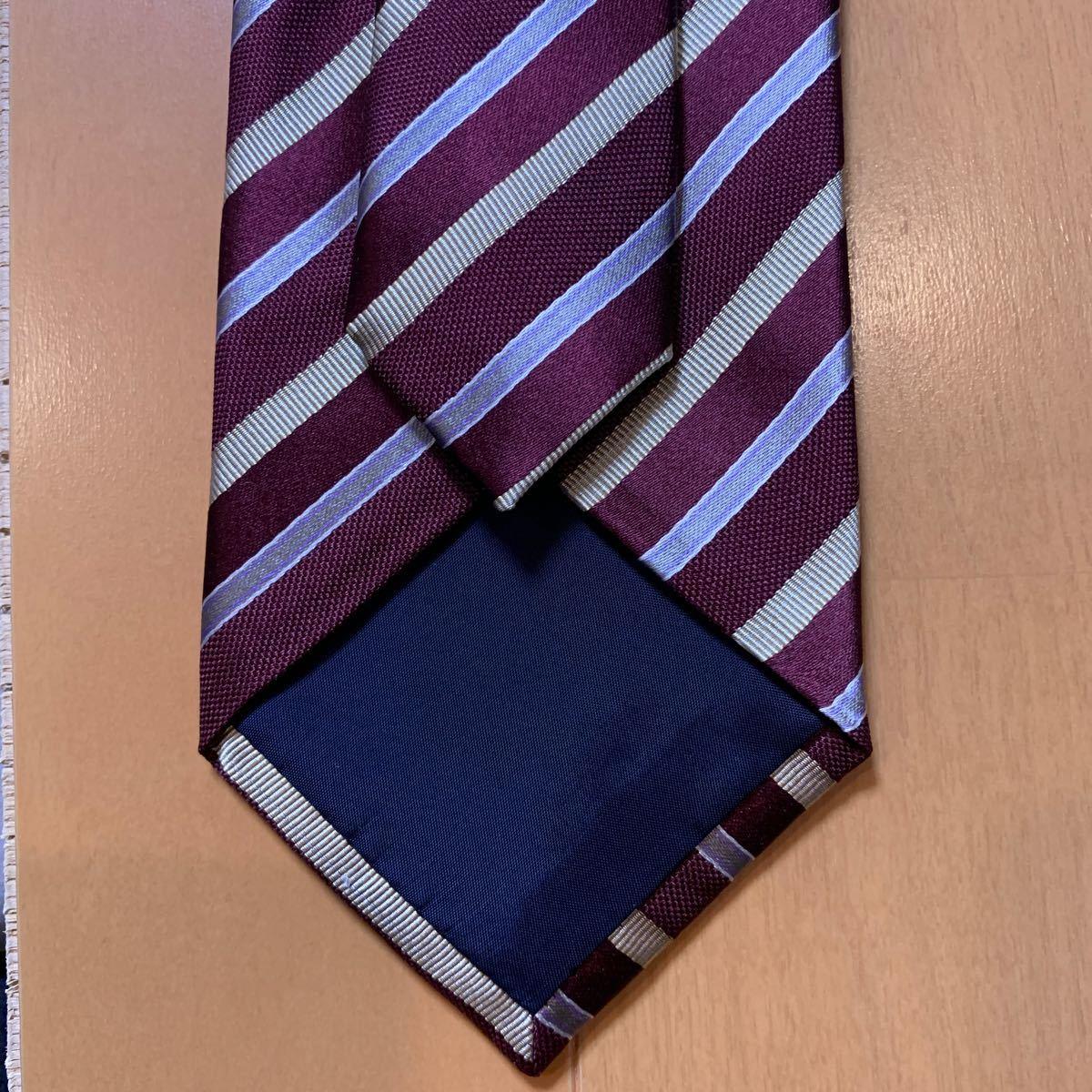 ストライプ柄 ネクタイ