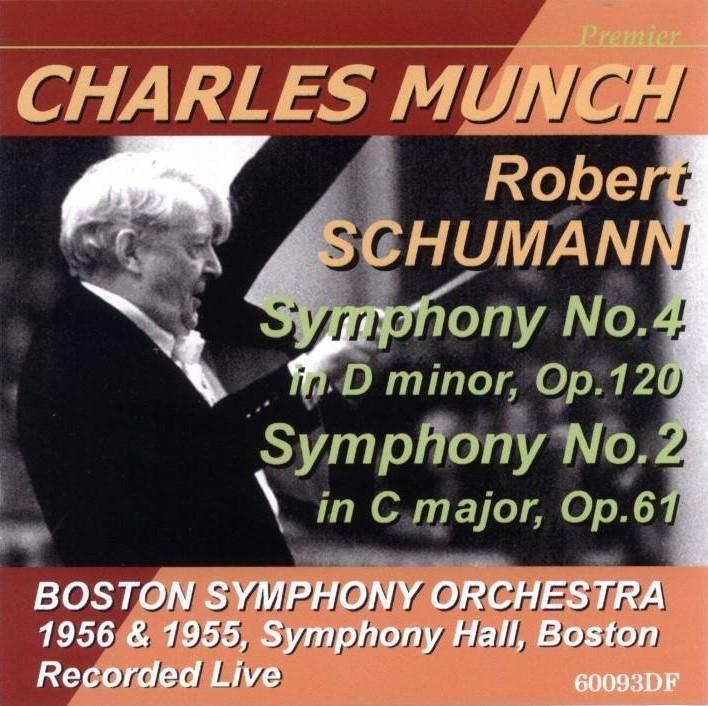 ミュンシュ/ボストン響 ライブ シューマン 交響曲第4番、第2番_画像1