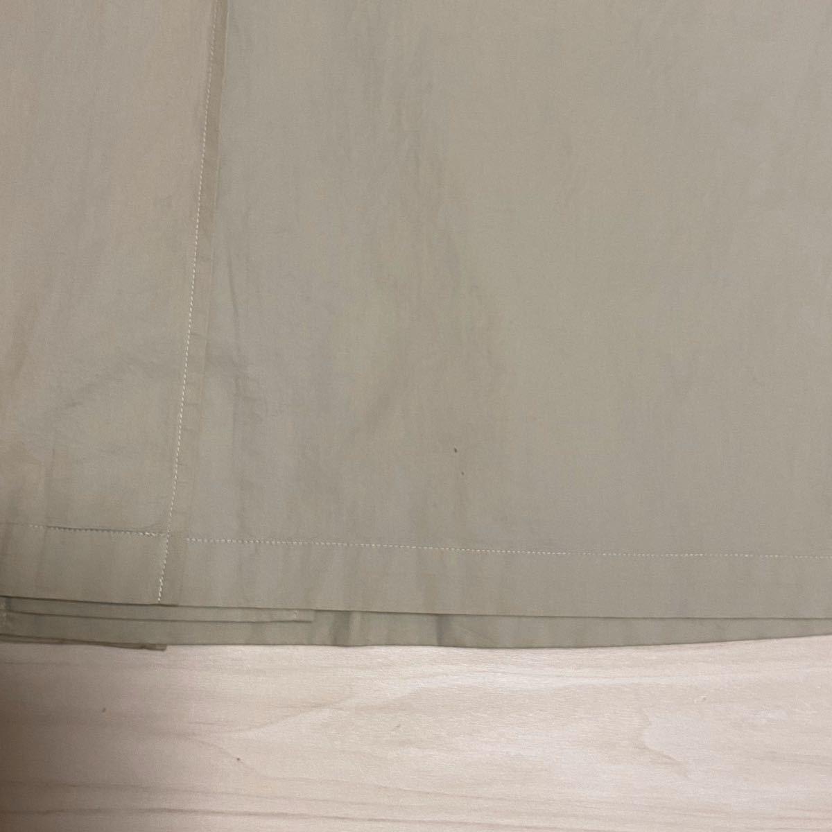BURBERRY LONDON ステンカラーコート 裏地ノバチェック 日本製 ベージュ 三陽商会 バーバリーロンドン 比翼 175 薄手 ゆったり 背抜き_画像8