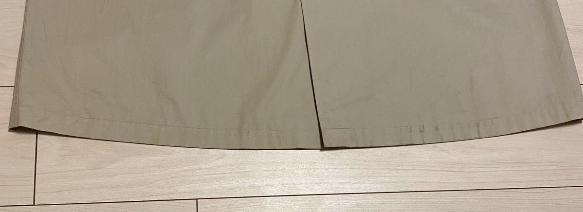BURBERRY LONDON ステンカラーコート 裏地ノバチェック 日本製 ベージュ 三陽商会 バーバリーロンドン 比翼 175 薄手 ゆったり 背抜き_画像9