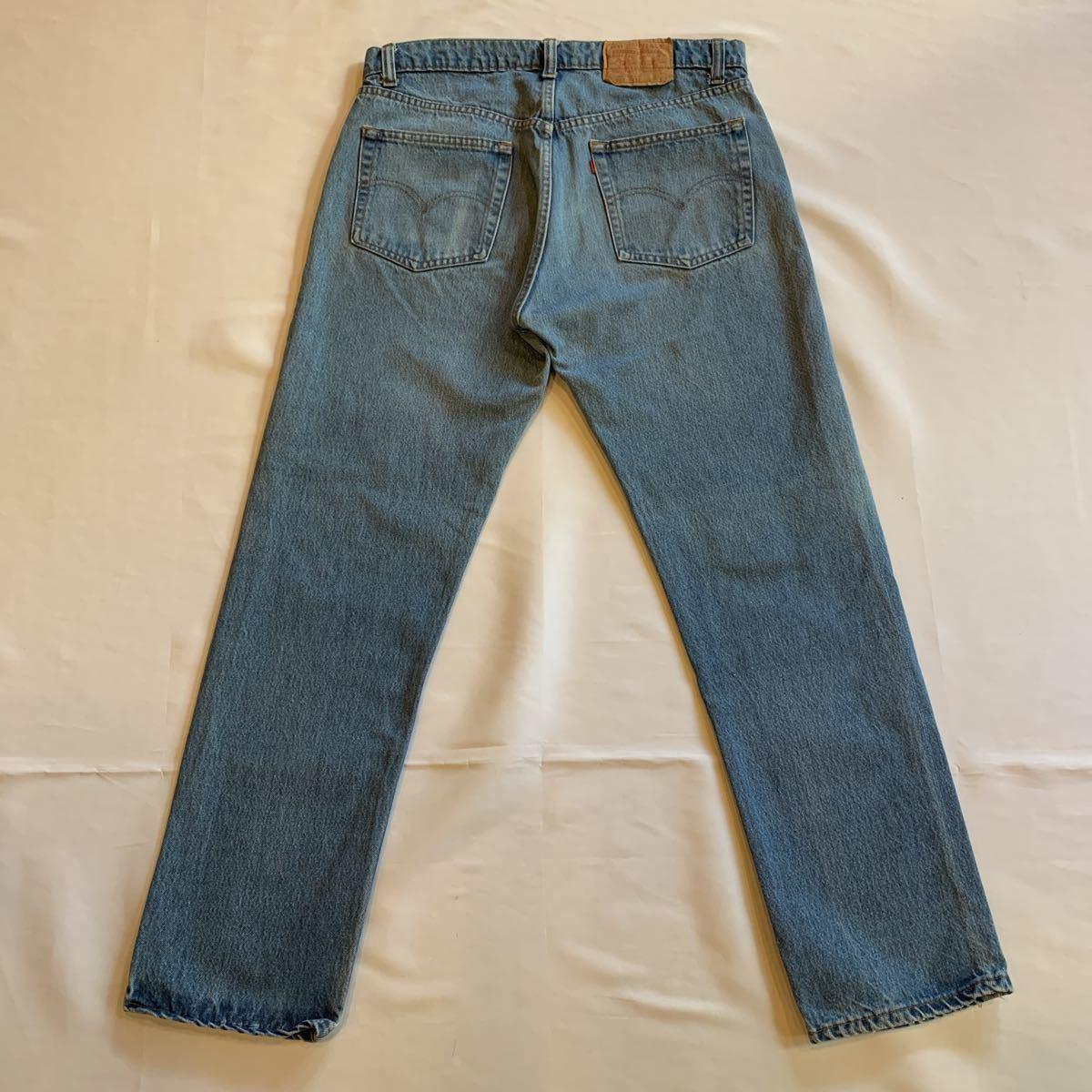 80s Levi's 505 DENIM PANTS MADE IN USA ヴィンテージ ビンテージ リーバイス 505-0217 デニムパンツ アメリカ製 チェーンステッチ 70s_画像2