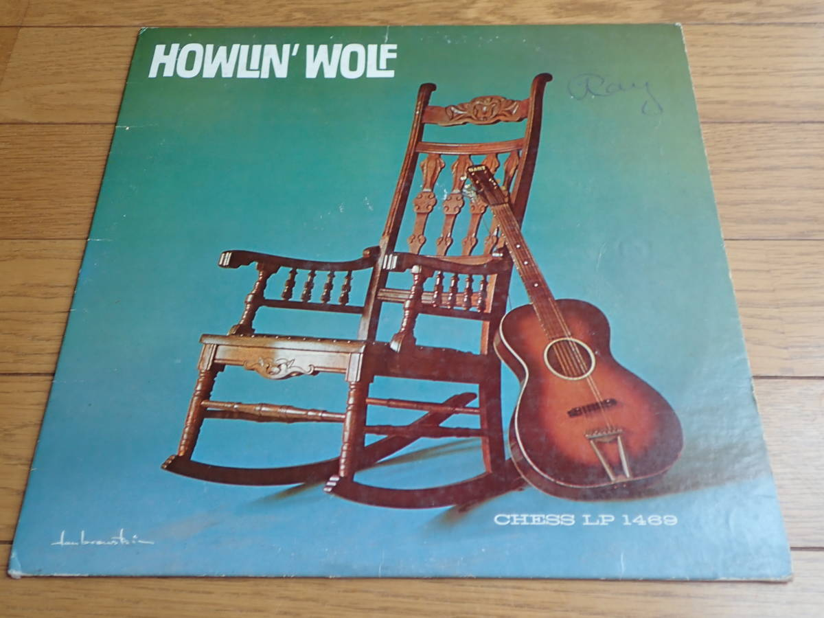 US Chess mono HOWLIN' WOLF / ロッキング・チェアー