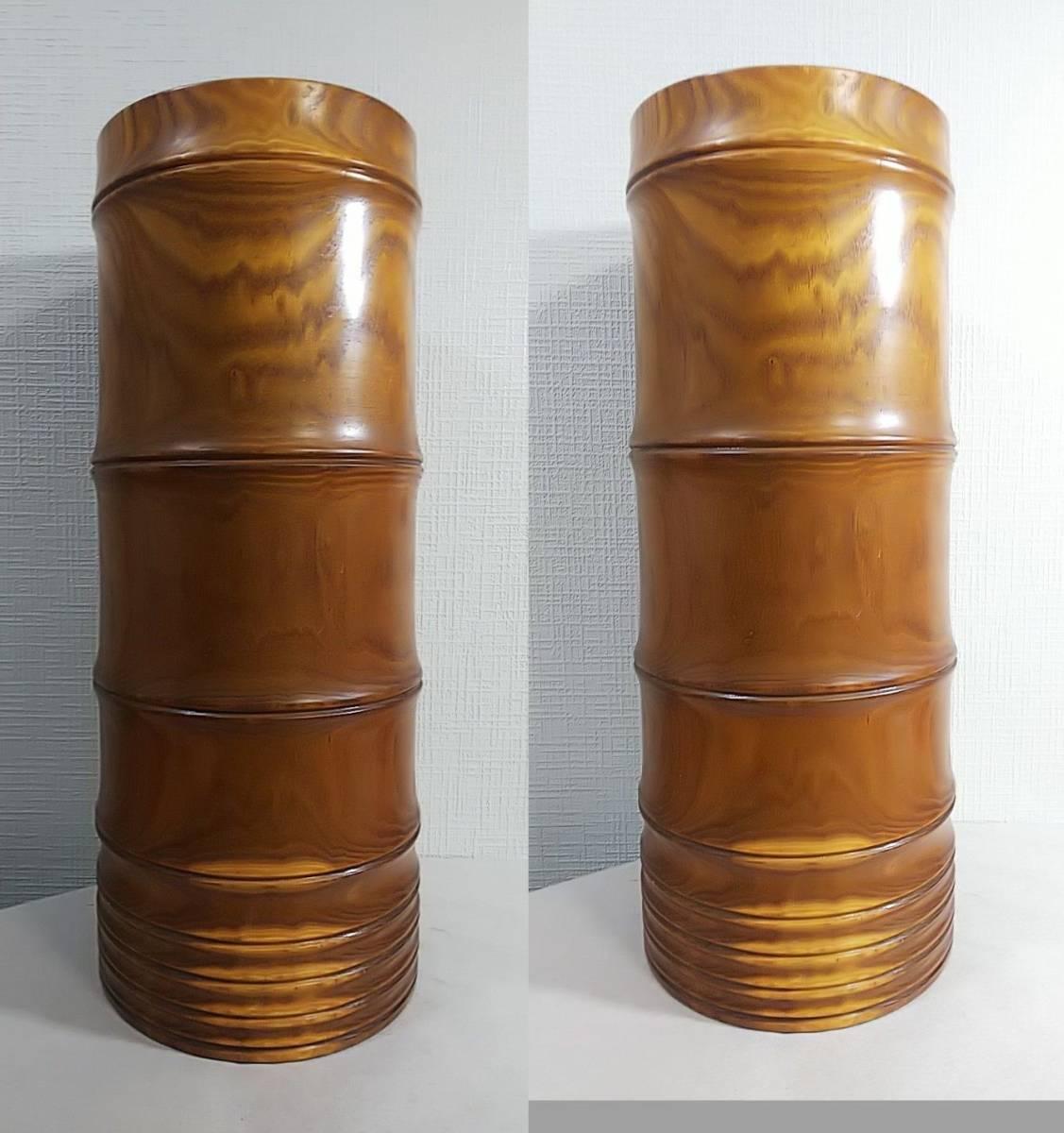 木製 花器 高さ:41.5㎝_画像4