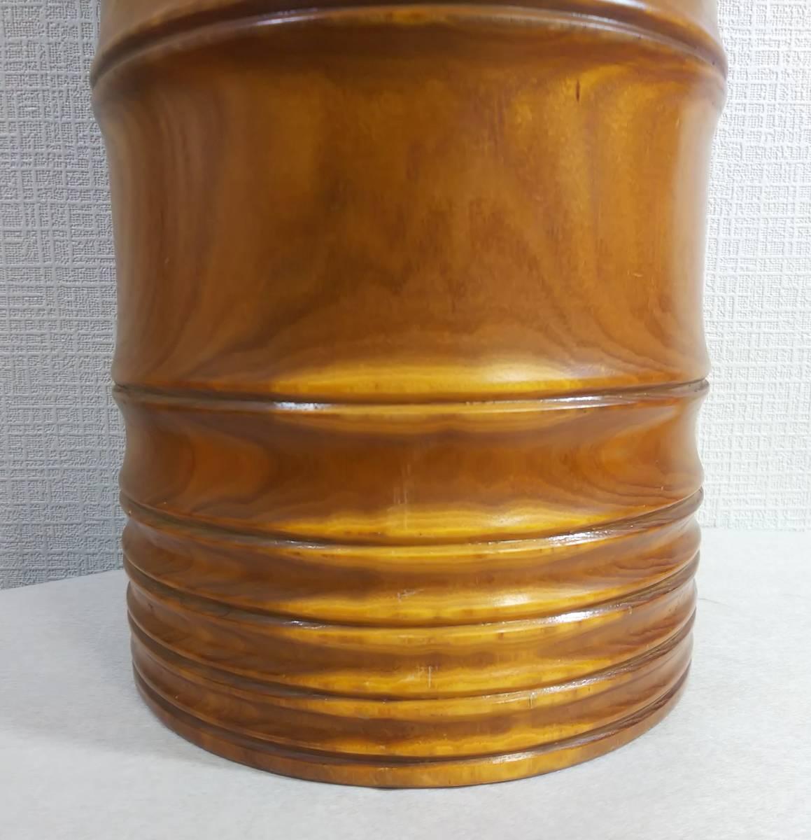木製 花器 高さ:41.5㎝_画像5