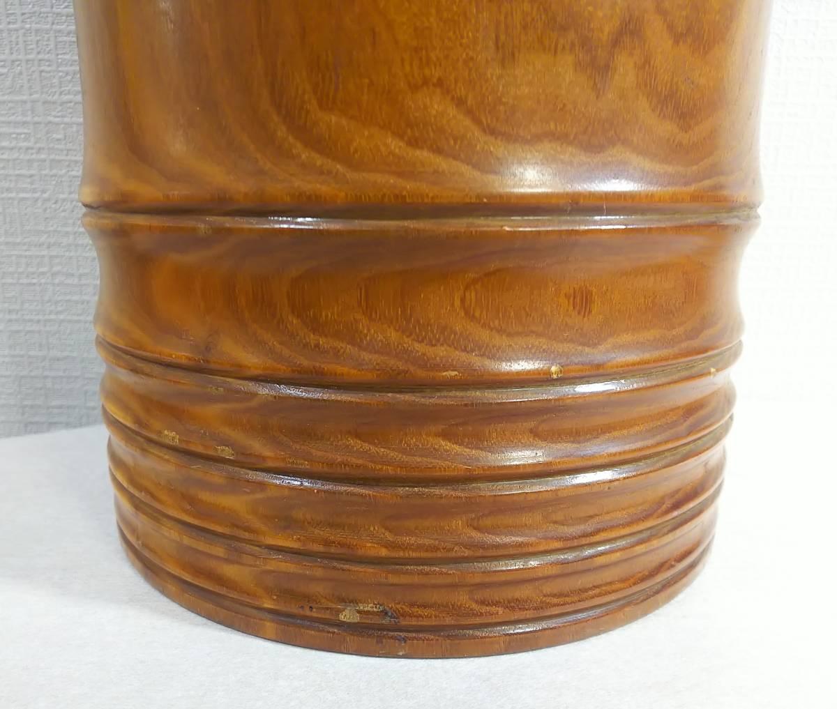 木製 花器 高さ:41.5㎝_画像3