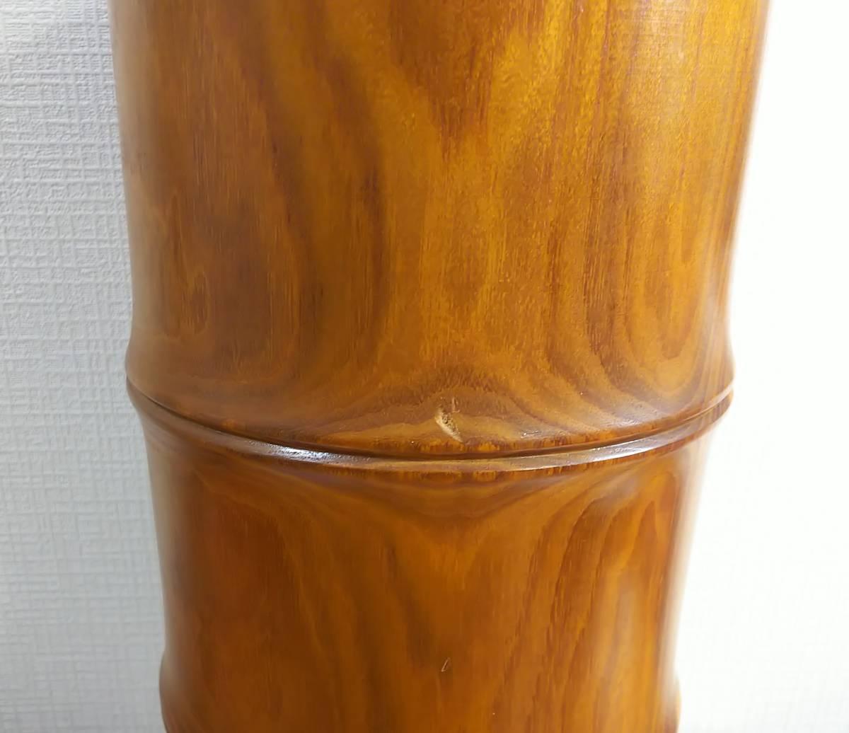 木製 花器 高さ:41.5㎝_画像7