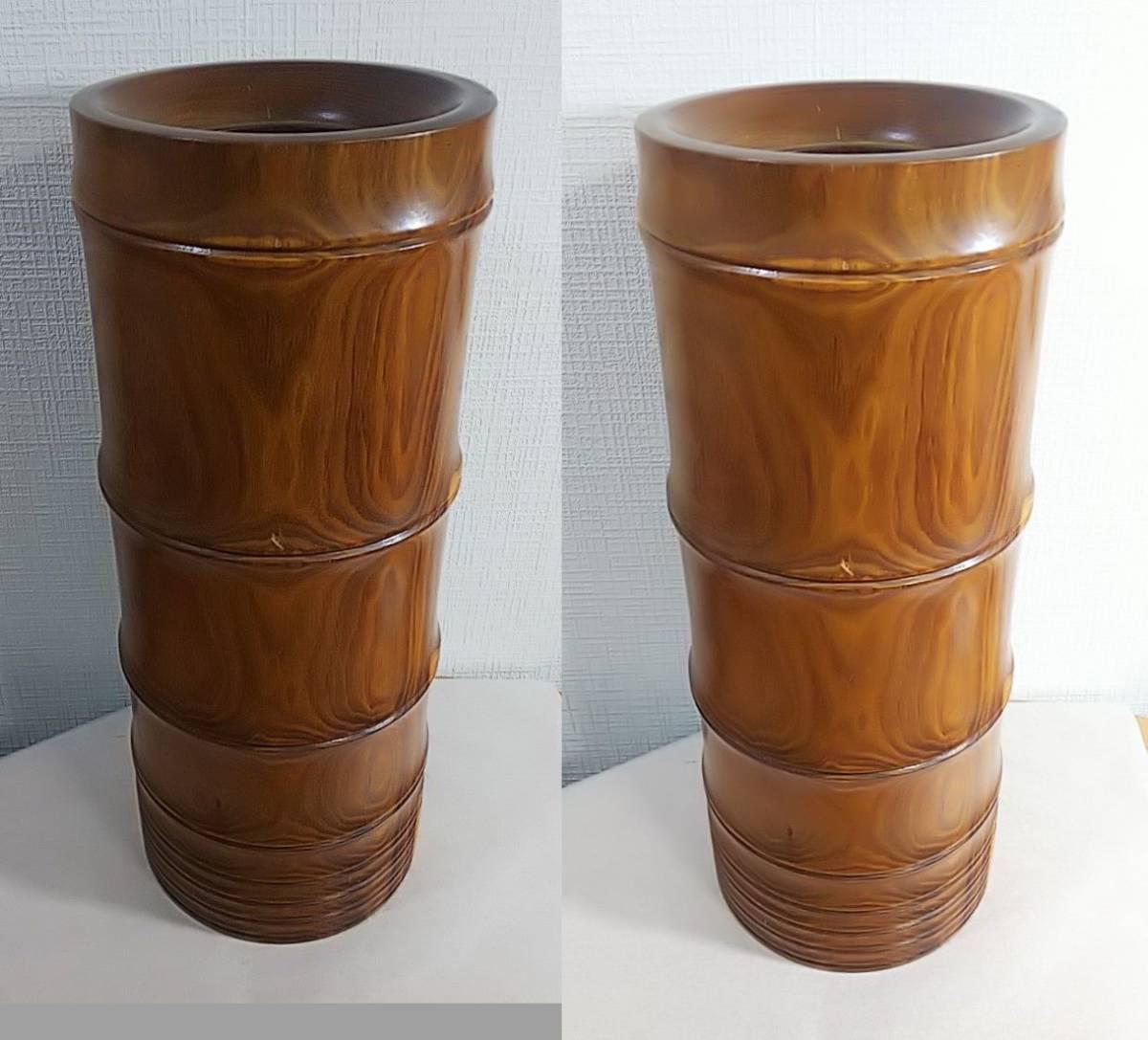 木製 花器 高さ:41.5㎝_画像6