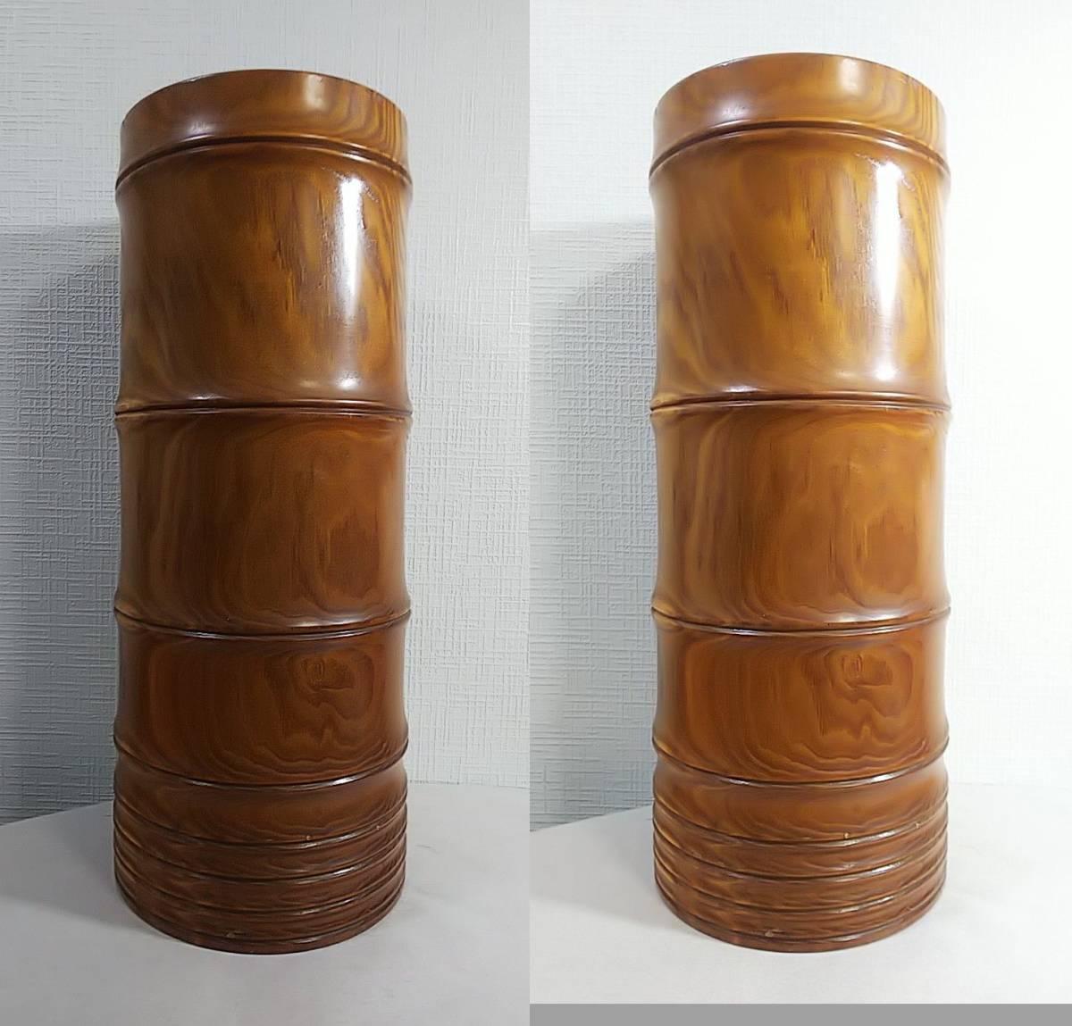 木製 花器 高さ:41.5㎝_画像2