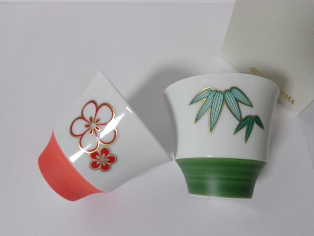 香蘭社 ペアフリーカップ(お湯呑にも)_画像2