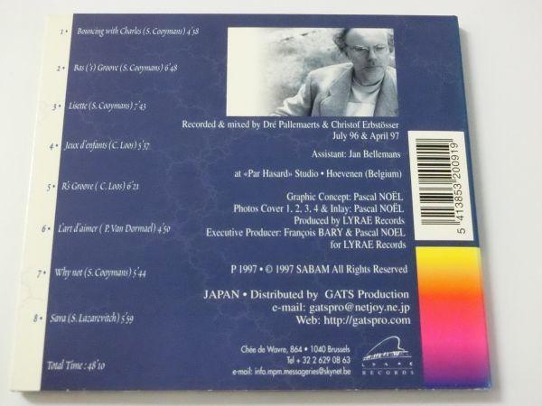 チャールズ・ルース・トリオ ラスト・フォー・ジャズ 輸入盤 日本語解説・帯付 デジパック 全8曲 CHARLES LOOS TRIO_画像3