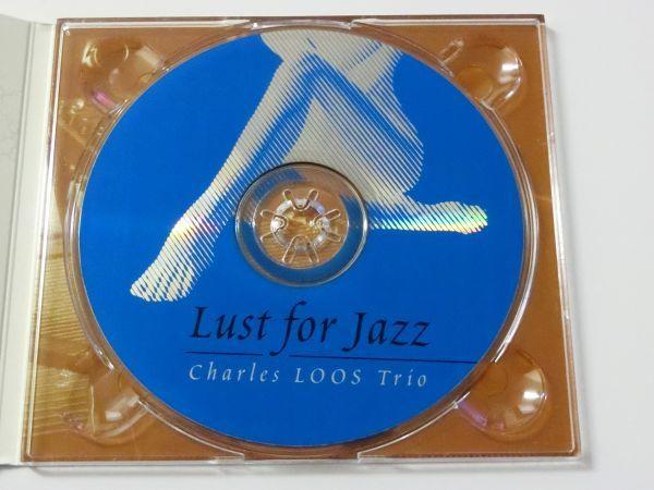 チャールズ・ルース・トリオ ラスト・フォー・ジャズ 輸入盤 日本語解説・帯付 デジパック 全8曲 CHARLES LOOS TRIO_画像5