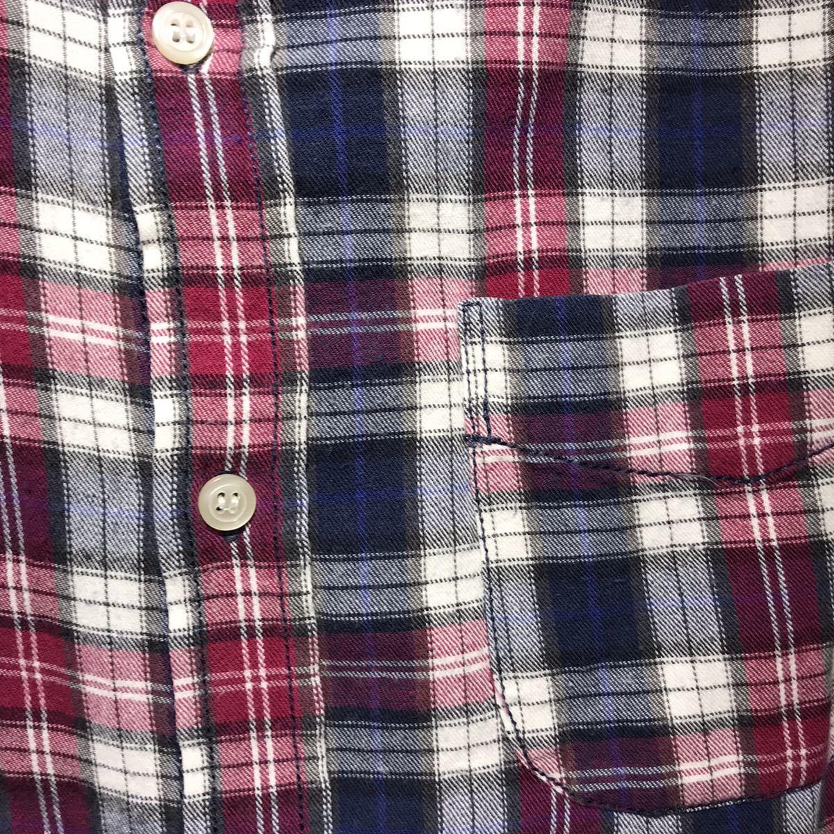AZUL by moussy アズールバイマウジー 長袖シャツ チェックシャツ サイズS