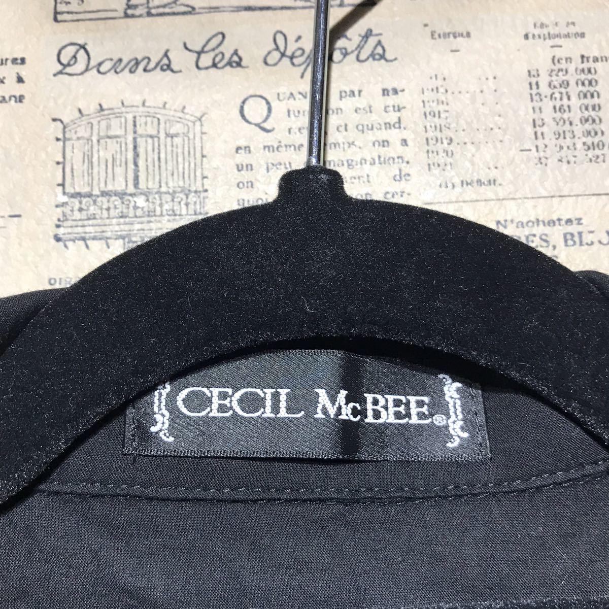CECIL McBEE セシルマクビー シャツ サイズM
