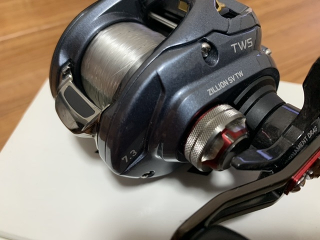 美品 ダイワ 16ジリオン SV TW 1016SV-SH クレハライン シーガー R-18フロロリミテッド 新品16lb付き_画像5