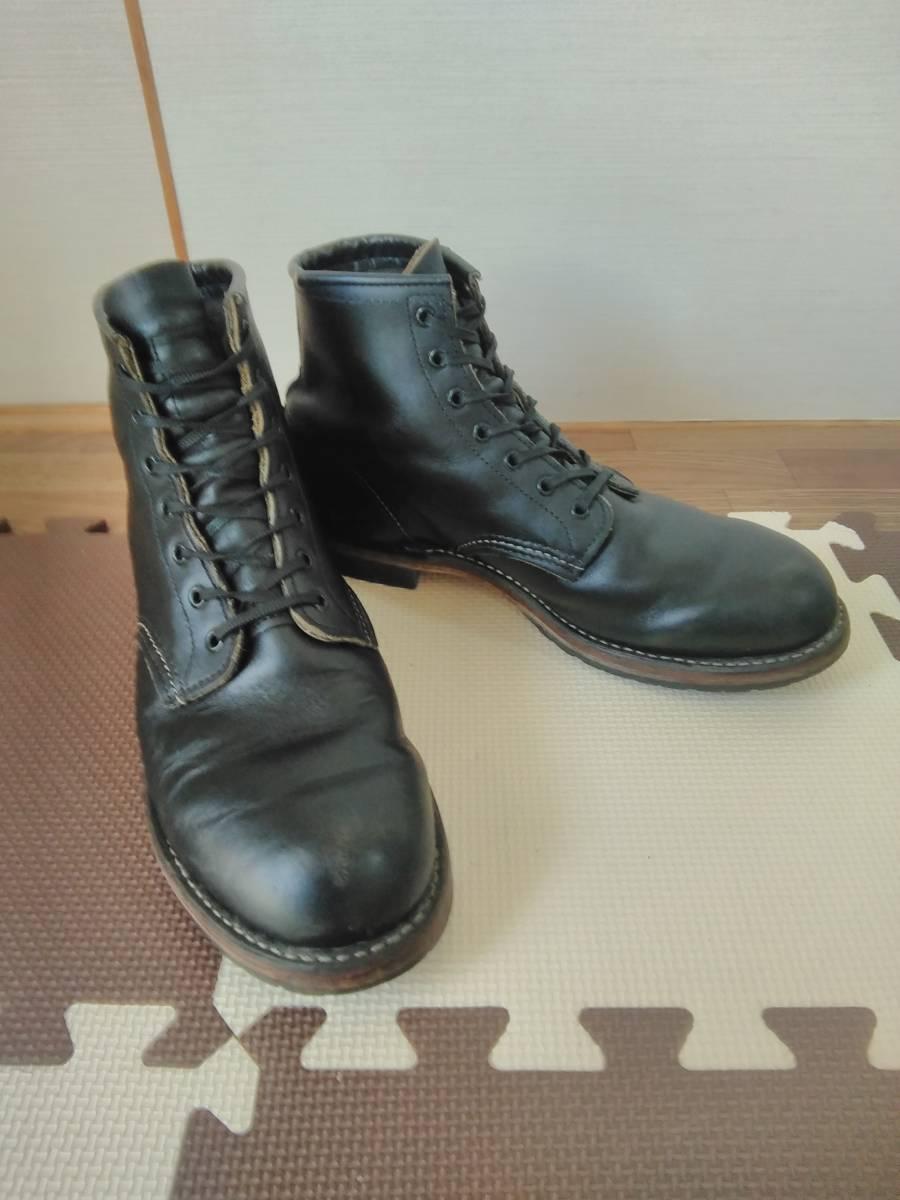 REDWING レッドウイング 9014 ベックマン 9.5D ブラック  8268226881658875 ブーツ_画像1