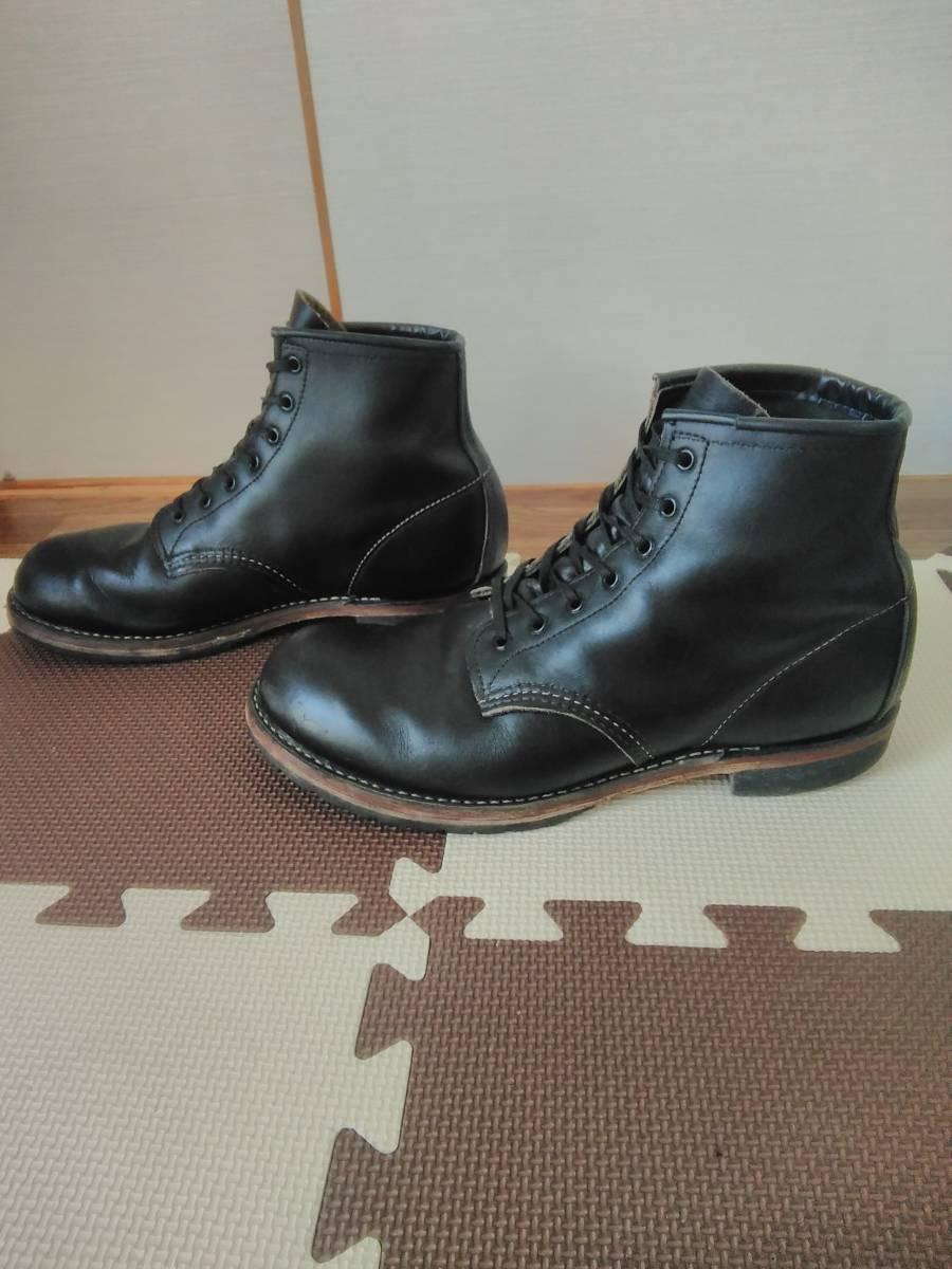 REDWING レッドウイング 9014 ベックマン 9.5D ブラック  8268226881658875 ブーツ_画像2