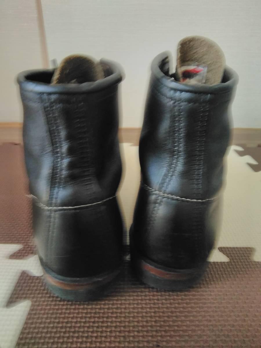 REDWING レッドウイング 9014 ベックマン 9.5D ブラック  8268226881658875 ブーツ_画像4