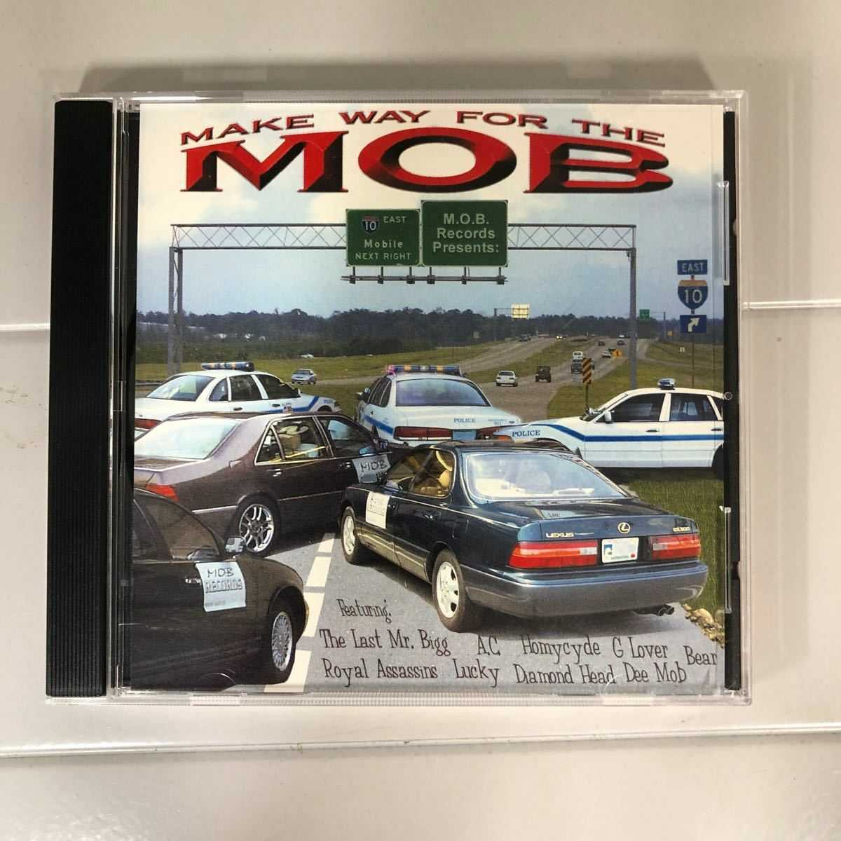 【G Rap/ 送料無料】MAKE WAY FOR MOB / V.A オムニバス