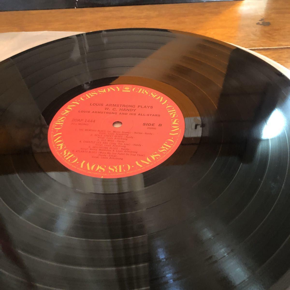 中さん★LPレコード★JAZZ★ルイ・アームストロング ★W.C.HANDY★レコード多数出品中★紙ジャケ _画像5