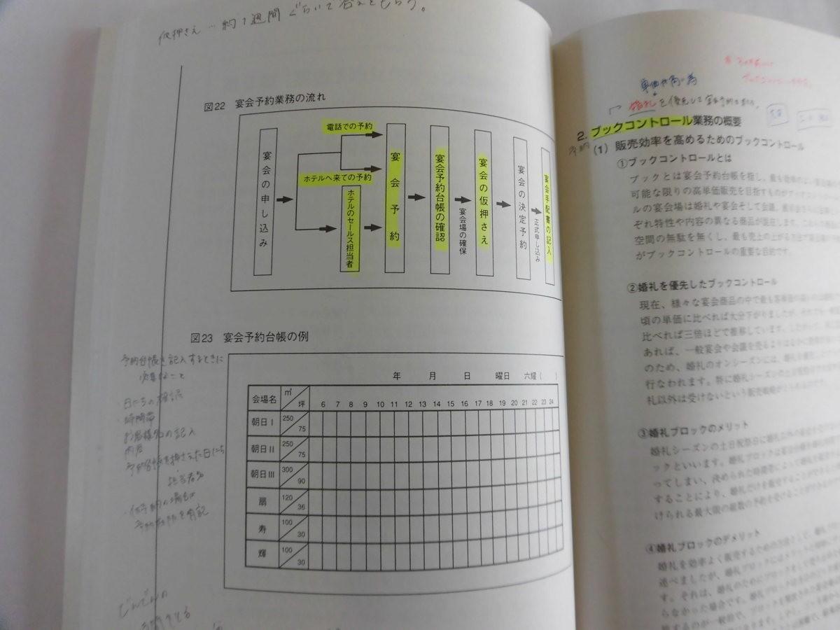 宴会管理論 ホテル専門書籍 送料無料 【05558】_画像3