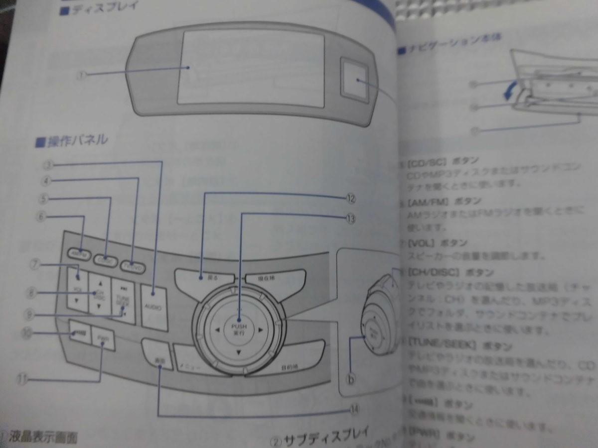 ホンダナビゲーションシステム 取扱説明書 送料無料 【05279】_画像4