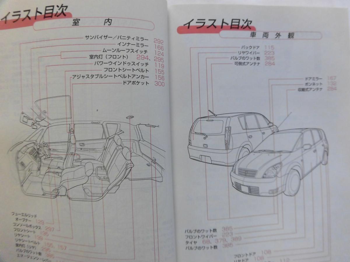 トヨタ オーパ Opa 取扱説明書 送料無料 【05111】_画像2