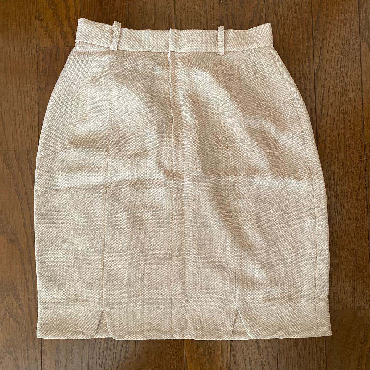 スカート タイト ベージュ  Lサイズ