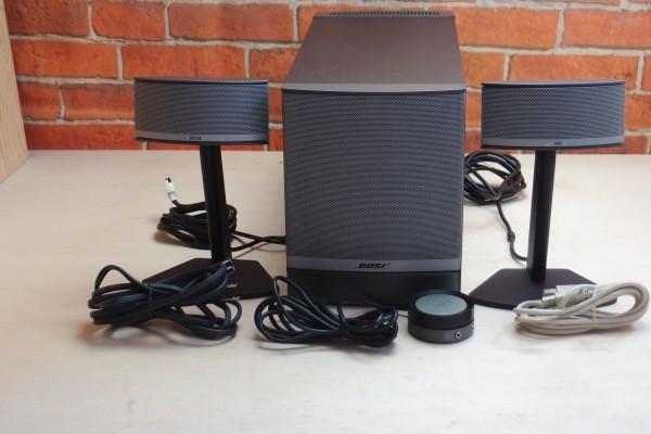 Bose Companion 5 マイクロキューブ3D 2.1chマルチメディア PCスピーカー グラファイトシルバー 送料無料