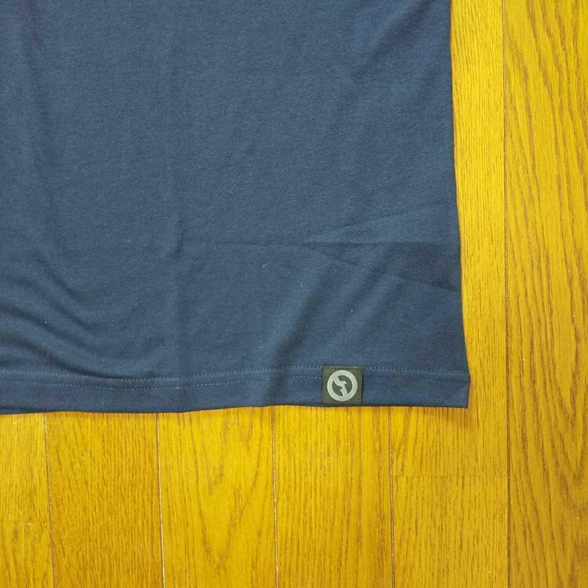 Lサイズ タグ付き新品 アウトドアプロダクツ OUTDOOR PRODUCTS 半袖Tシャツ ロゴ ネイビー メンズ紳士 スポーツ アメリカ ウェアアウトドア
