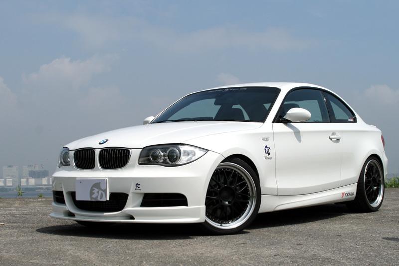 3D Design 3Dデザイン BMW E82 M-Sport フロントリップスポイラー_画像1