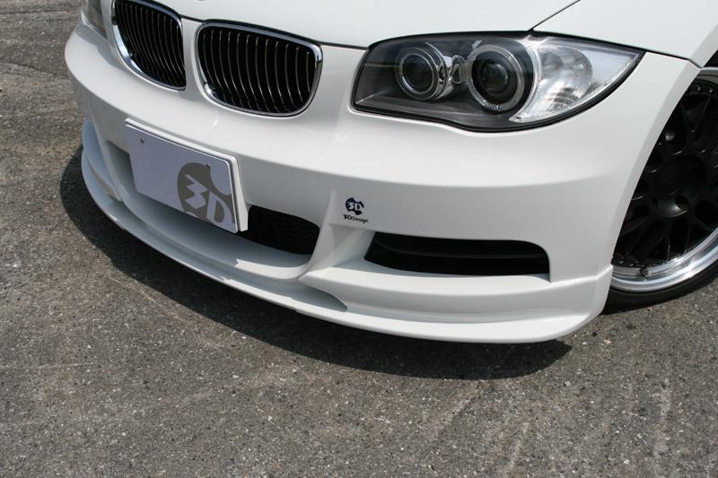 3D Design 3Dデザイン BMW E82 M-Sport フロントリップスポイラー_画像2