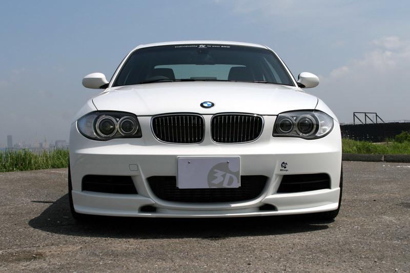 3D Design 3Dデザイン BMW E82 M-Sport フロントリップスポイラー_画像3