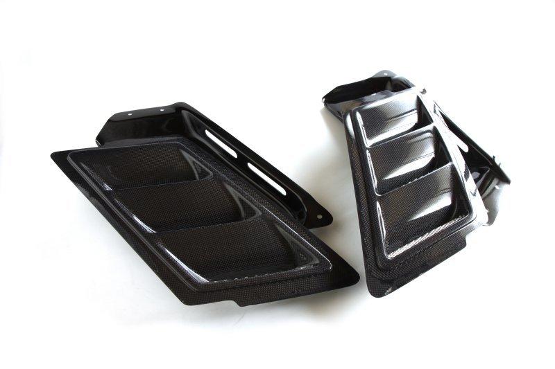 3D Design 3Dデザイン BMW E82 フードダクトキット カーボン使用(トレイはFRP)_画像2