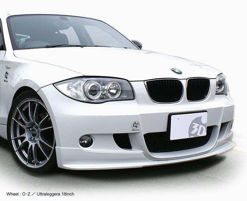 3D Design 3Dデザイン BMW E87 M-Sport フロントリップスポイラー_画像1