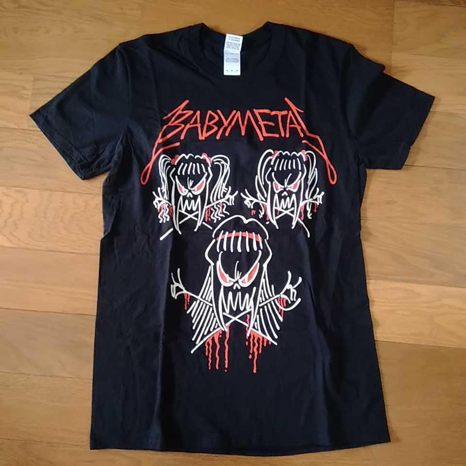【未着用 Mサイズ】BABYMETAL ROCKAVARIA(WORLD TOUR 2015 T-Shirts) TEE Tシャツ 中