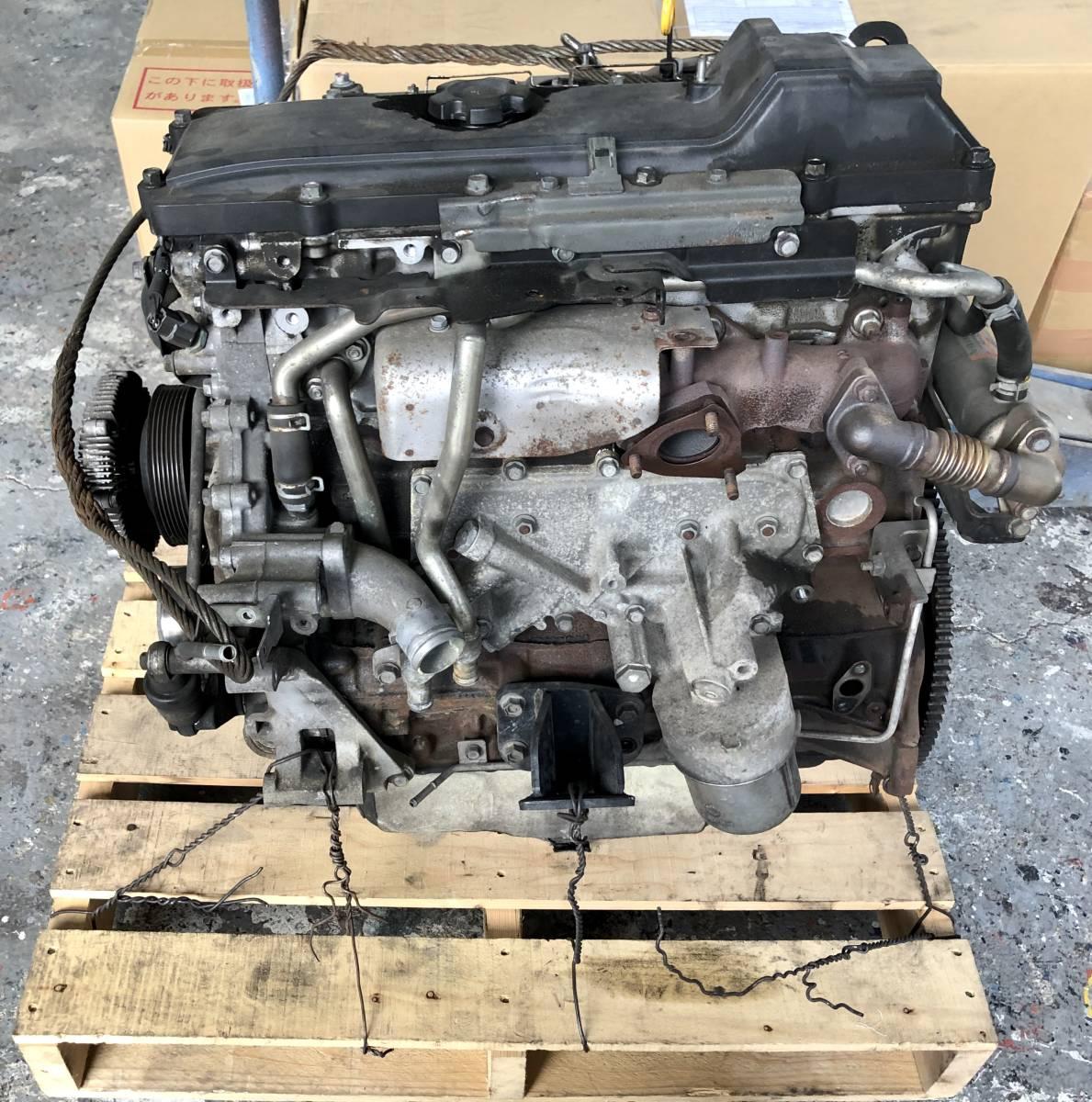日産 キャラバン E25 エンジン ジャンク品_画像1