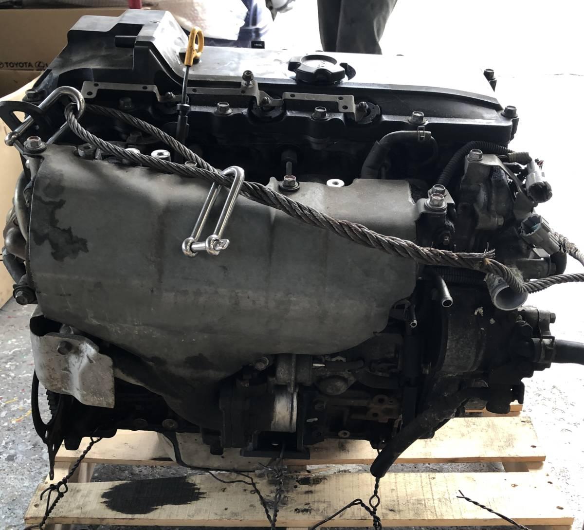 日産 キャラバン E25 エンジン ジャンク品_画像3