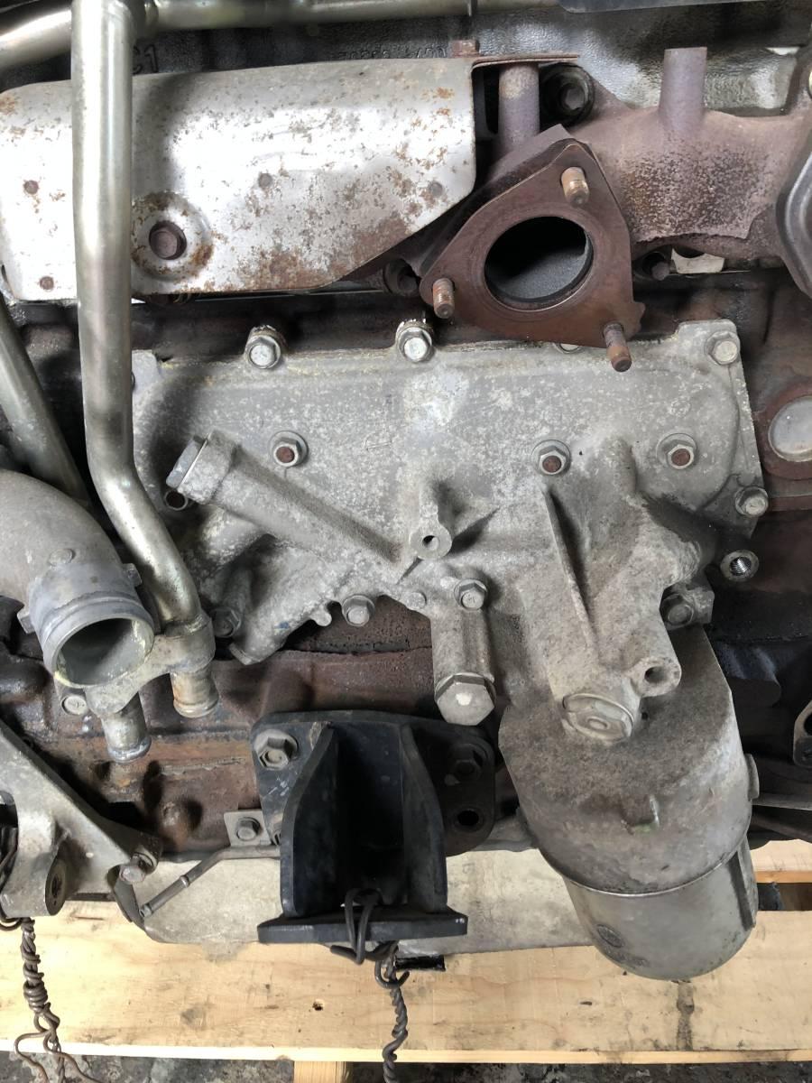 日産 キャラバン E25 エンジン ジャンク品_画像5