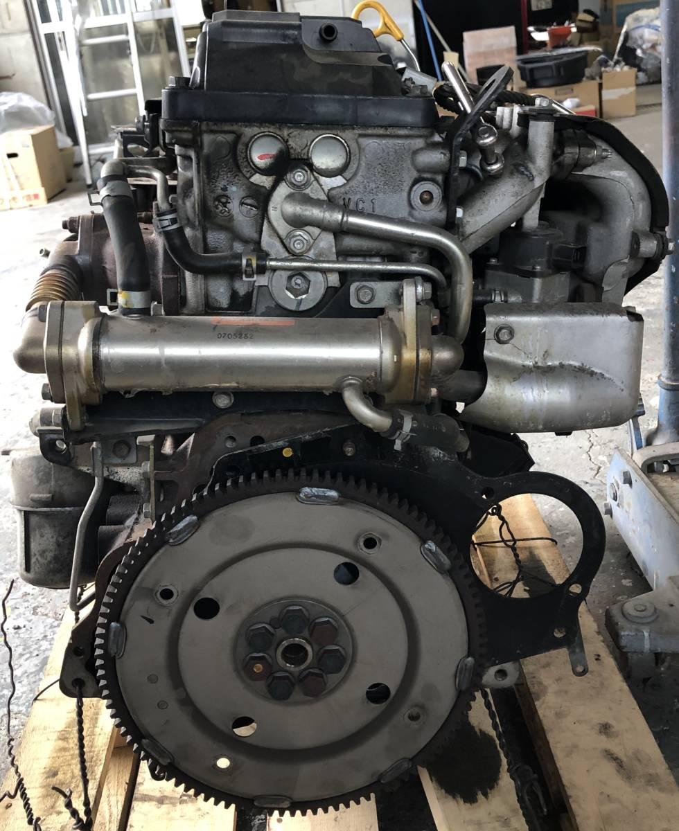 日産 キャラバン E25 エンジン ジャンク品_画像4