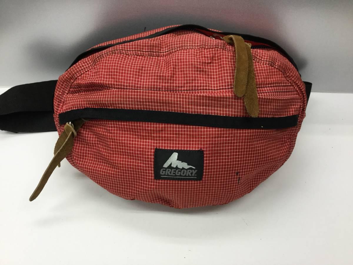 USA製 グレゴリー テールメイトS マイクロスペクトラ レッド ボディバッグ