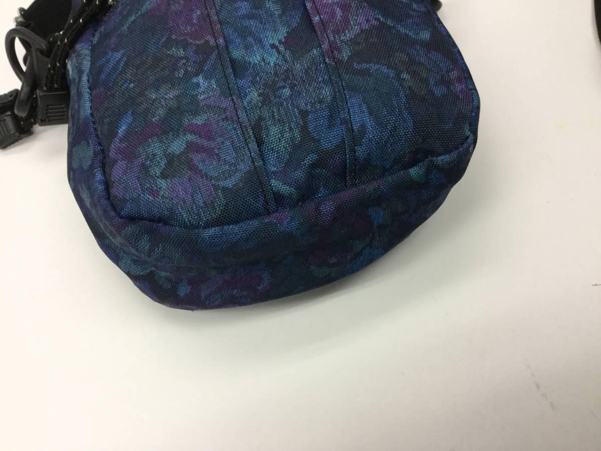 USA製 グレゴリー クイックポケットM ブルータペストリー 花柄 ショルダーポーチ ポシェット