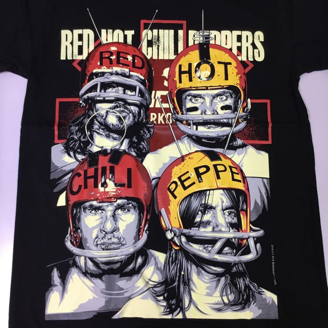 バンドデザインTシャツ Mサイズ レッドホットチリペッパーズ RED HOT CHILI PEPPERS レッチリ RHCP SR5A1