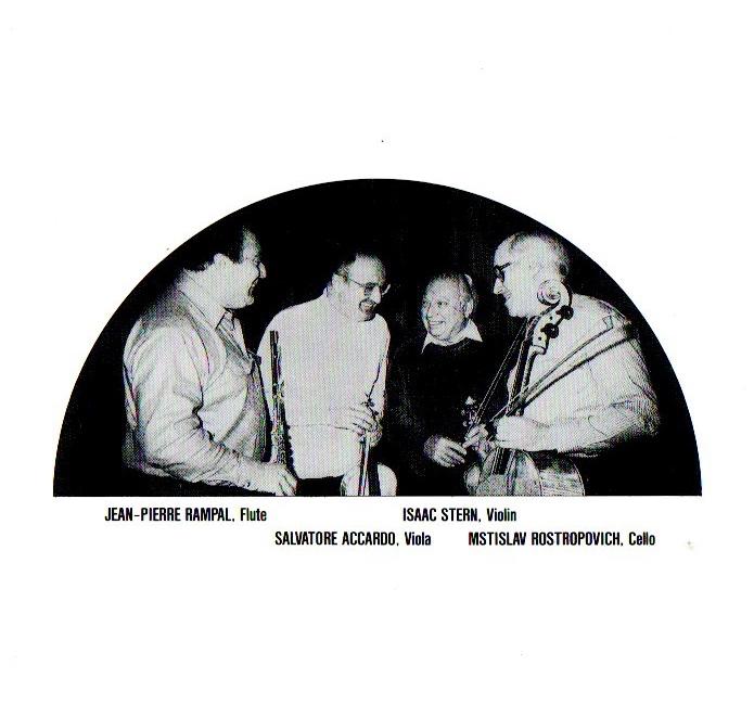モーツァルト フルート四重奏曲全集 ランパル・スターン・アッカルド・ロストロポーヴィチ The定盤!! SONY_画像3